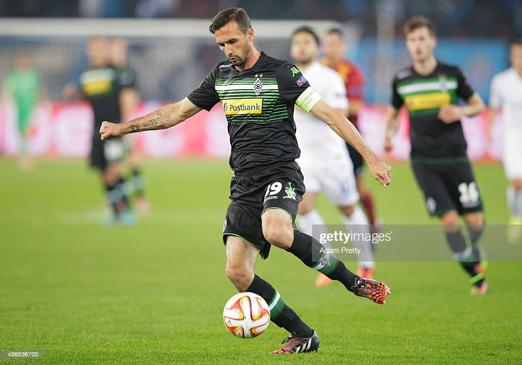 Martin Stranzl of Monchengladbach in action during the UEFA Europa League match between FC Zurich and VfL Borussia Monchengladbach at Stadion...