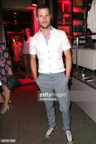 MUNICH GERMANY JUNE 26 Martin Tomczyk DTM Champion during the Movie meets Media Party during the Munich Film Festival on June 26 2017 in Munich...