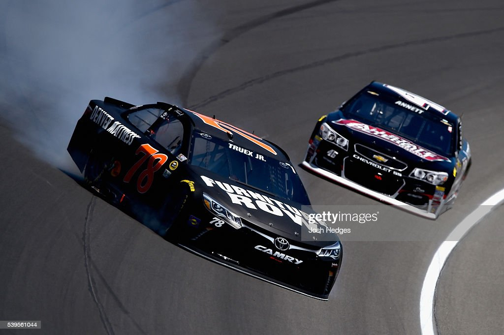 Sprint Cup Series Firekeepers Casino 400 Getty Images