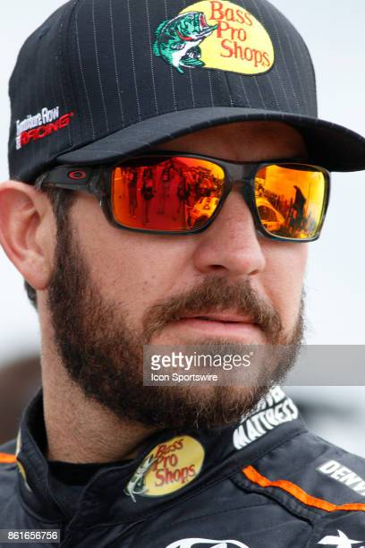 Martin Truex Jr Furniture Row Racing Bass Pro Shops / Tracker Boats Toyota Camry during qualifications for the Alabama 500 Monster Energy NASCAR Cup...