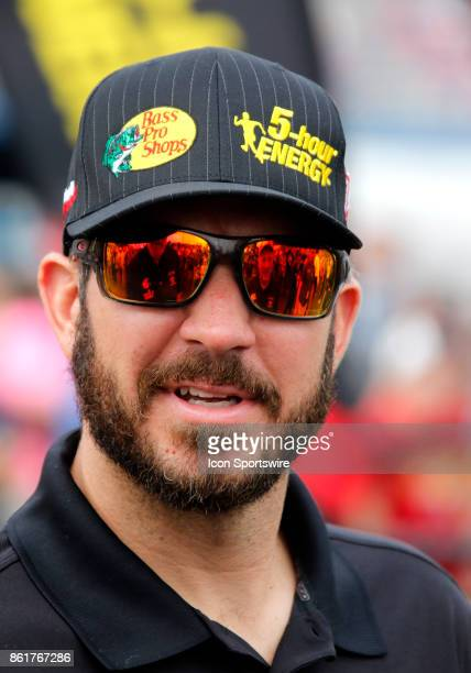 Martin Truex Jr Furniture Row Racing Bass Pro Shops / Tracker Boats Toyota Camry during the running of the Alabama 500 Monster Energy Cup Series race...