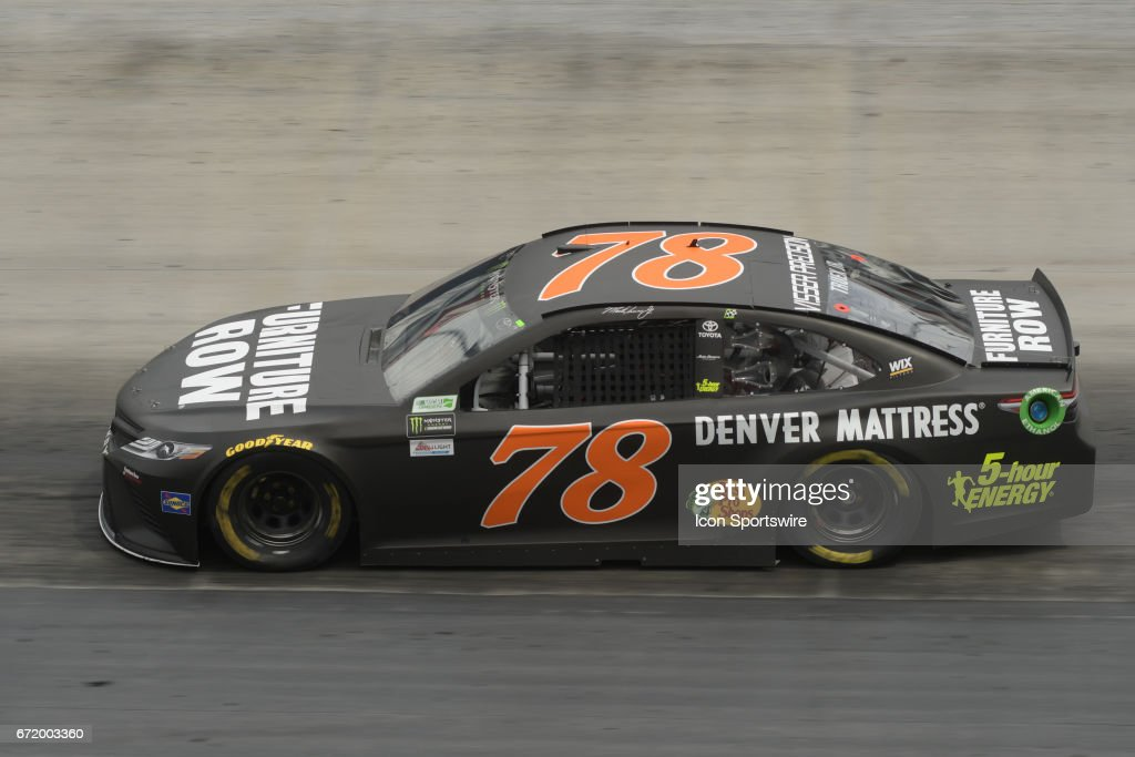 furniture row racing. martin truex jr. (78) furniture row racing toyota camry during practice for the