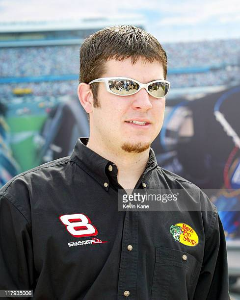 Martin Trunex Jr new driver for the Bass Pro Shops car owned by Dale Earnhardt Jr and Teresa Earnhardt at Daytona International Speedway February 7...