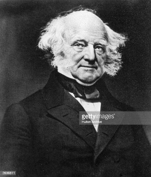 Martin Van Buren the 8th President of the United States of America A Democrat he helped to establish the Democratic Party Secretary of State in 1829...
