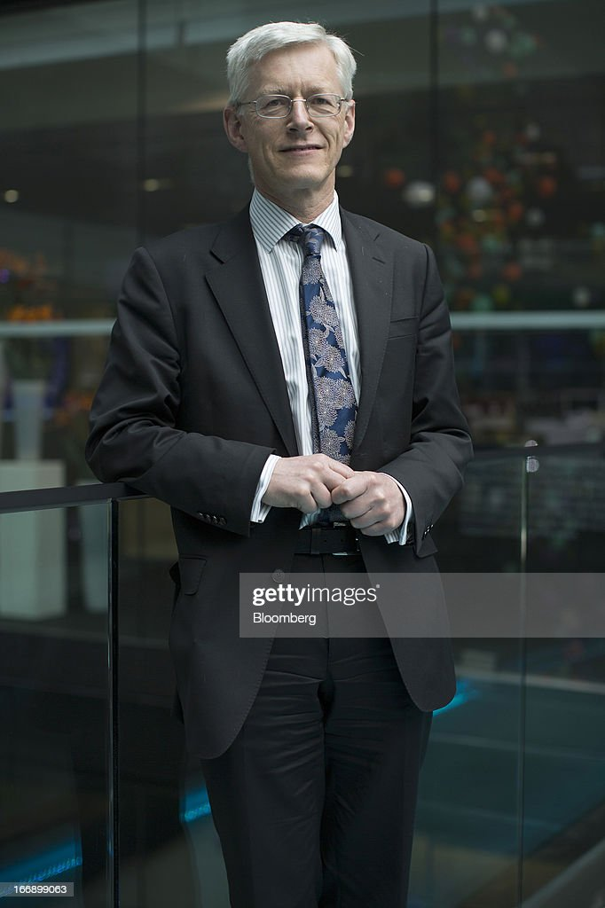 Martin Weale, a member of the Monetary Policy Committee at the Bank of England, poses for a photograph following a Bloomberg Television interview in London, U.K., on Thursday, April 18, 2013. U.K. Chancellor of the Exchequer George Osborne's March 20 budget statement clarified the BOE's right to use unconventional tools to stoke growth and said it should examine the case for forward guidance on the future path of policy. Photographer: Simon Dawson/Bloomberg via Getty Images