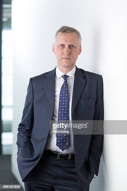 Martin Wheatley chief executive officer of the UK Financial Conduct Authority poses for a photograph following a Bloomberg Television interview in...