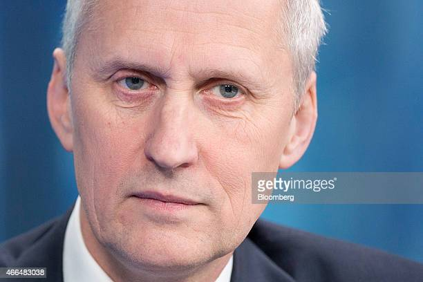 Martin Wheatley chief executive officer of the UK Financial Conduct Authority pauses during a Bloomberg Television interview in London UK on Monday...