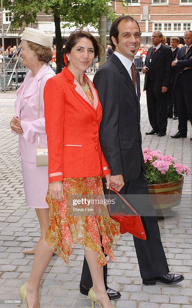 Martin Zorreguieta, brother of Princess Maxima, arrives for the Christening of baby girl Catharina-Amalia, daughter of Dutch Crown Prince Willem Alexander and Princess Maxima at the Hague on June 12, 2004 in Amsterdam, The Netherlands. Her parents announced the birth of their daughter Princess Amalia - who is the heir to the Dutch throne - on December 7, 2003.