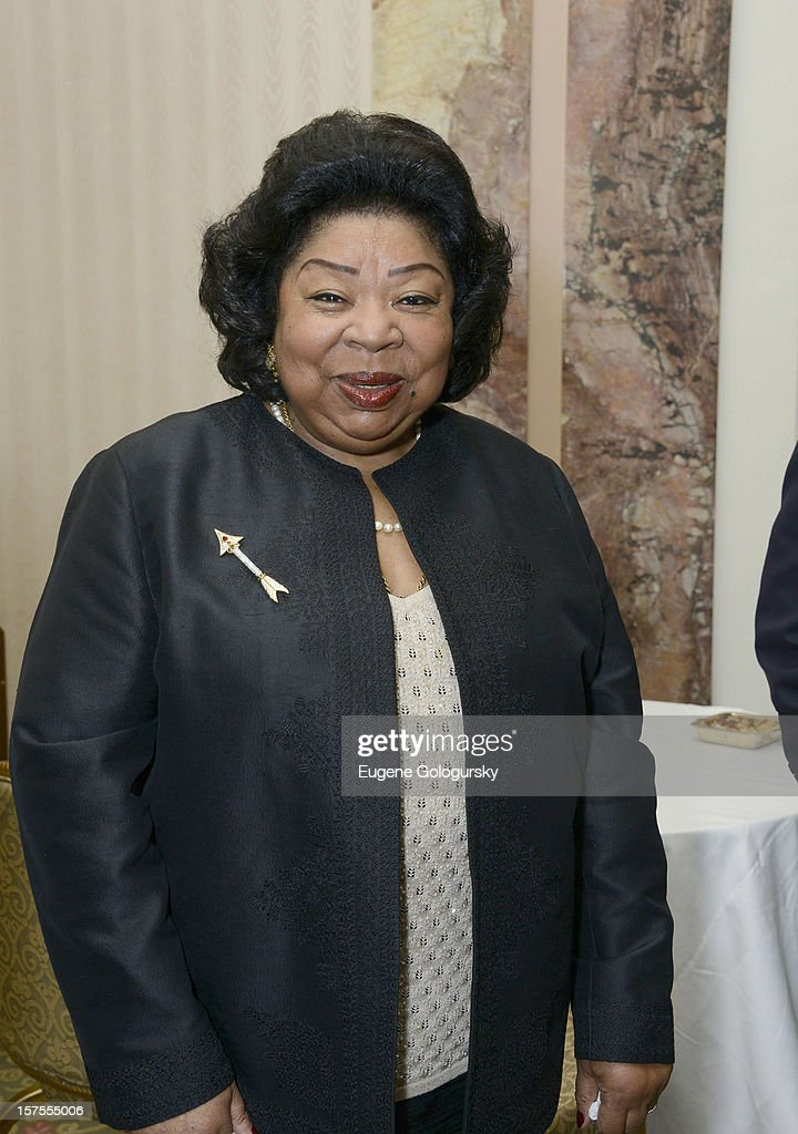 Martina Arroyo attends the Metropolitan Opera Guild's 78th Annual Luncheon Celebrating 'Star Power!' at The Waldorf Astoria on December 4, 2012 in New York City.