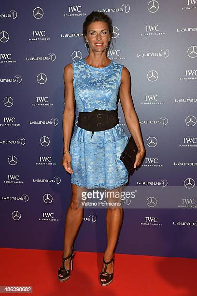 Martina Colombari attends during the Laureus F1 Charity Night 2015 at MercedesBenz Spa on September 3 2015 in Monza Italy