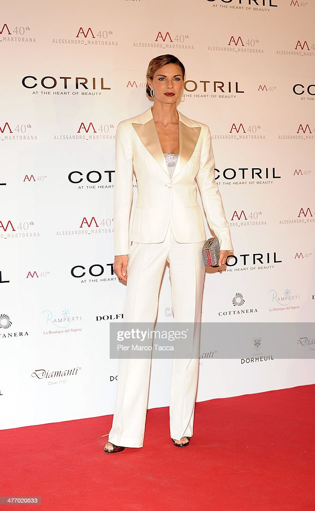 <a gi-track='captionPersonalityLinkClicked' href=/galleries/search?phrase=Martina+Colombari&family=editorial&specificpeople=2219414 ng-click='$event.stopPropagation()'>Martina Colombari</a> attends the Alessandro Martorana birthday party at Four Seasons Hotel on March 6, 2014 in Milan, Italy.