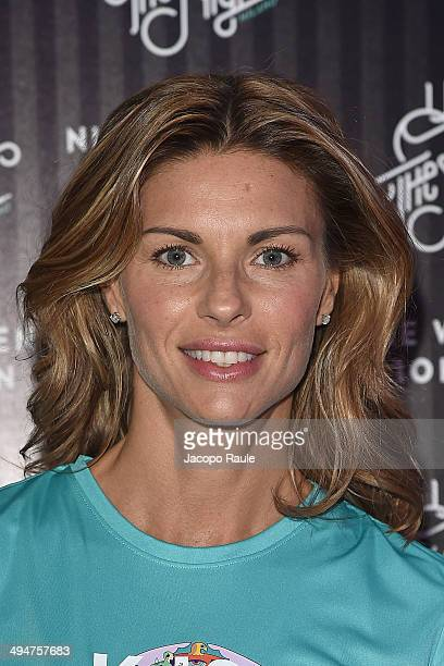 Martina Colombari attends We Own The Night Milan Women's 10km Run on May 30 2014 in Milan Italy