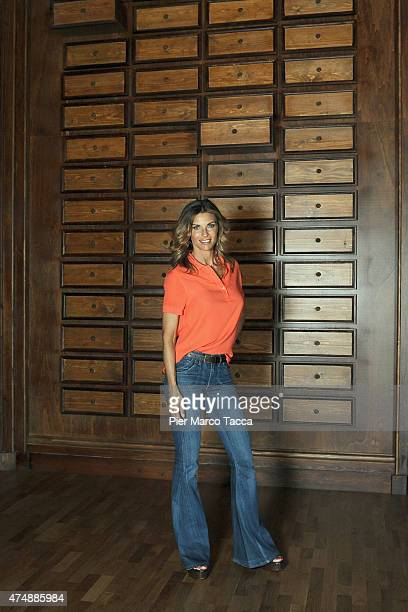 Martina ColombariAmbassador for Expo 2015 poses for a photo at pavilion Zero during the Expo 2015 at Fiera Milano Rho on May 27 2015 in Milan Italy