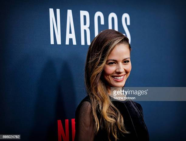 Martina Garcia attends the premiere of Netflix's 'Narcos' season 2 at ArcLight Cinemas on August 24 2016 in Hollywood California