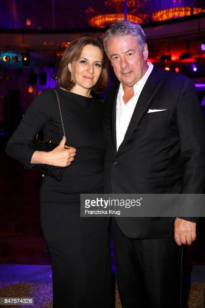 Martina Gedeck and her husband Markus Imboden attend the UFA 100th anniversary celebration at Palais am Funkturm on September 15 2017 in Berlin...