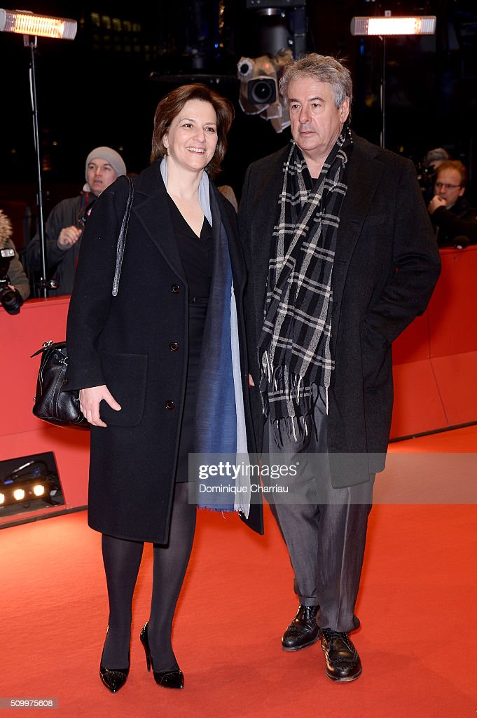 Martina Gedeck and Markus Imboden attend the 'Things to Come' (L'avenir) premiere during the 66th Berlinale International Film Festival Berlin at Berlinale Palace on February 13, 2016 in Berlin, Germany.
