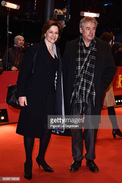 Martina Gedeck and Markus Imboden attend the 'Things to Come' premiere during the 66th Berlinale International Film Festival Berlin at Berlinale...