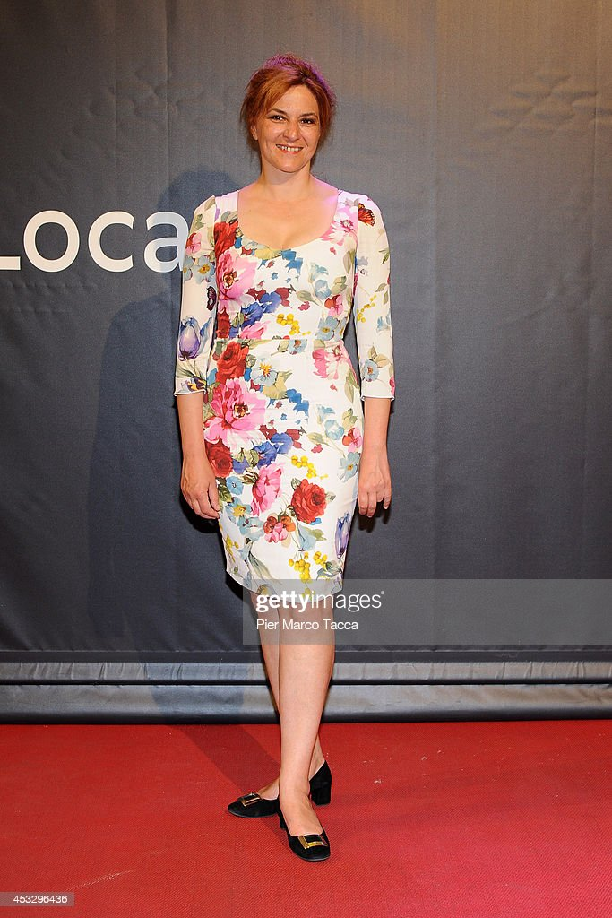 <a gi-track='captionPersonalityLinkClicked' href=/galleries/search?phrase=Martina+Gedeck&family=editorial&specificpeople=621042 ng-click='$event.stopPropagation()'>Martina Gedeck</a> attends 'Lucy' Premiere on August 6, 2014 in Locarno, Switzerland.