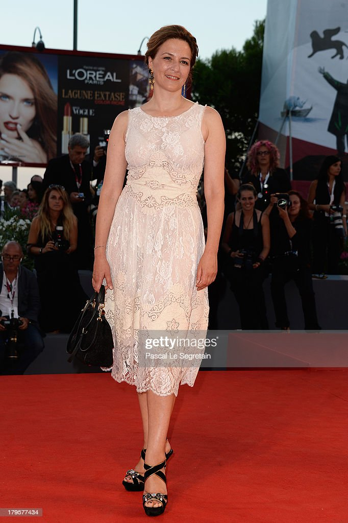 Martina Gedeck attends the 'Jealousy' Premiere during the 70th Venice International Film Festival at the Palazzo del Cinema on September 5, 2013 in Venice, Italy.