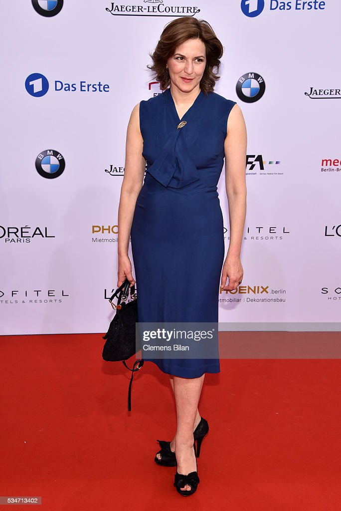 <a gi-track='captionPersonalityLinkClicked' href=/galleries/search?phrase=Martina+Gedeck&family=editorial&specificpeople=621042 ng-click='$event.stopPropagation()'>Martina Gedeck</a> attends the Lola - German Film Award (Deutscher Filmpreis) on May 27, 2016 in Berlin, Germany.