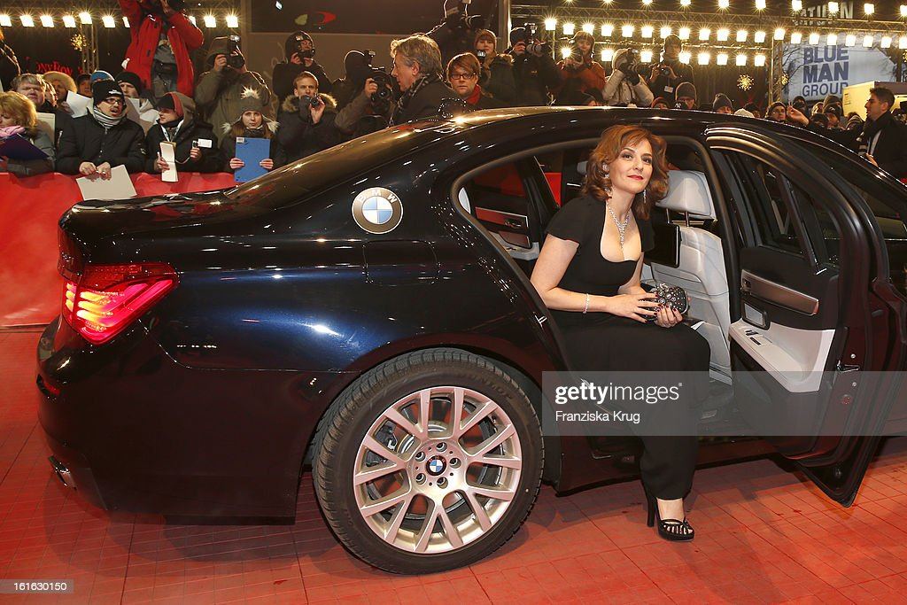 <a gi-track='captionPersonalityLinkClicked' href=/galleries/search?phrase=Martina+Gedeck&family=editorial&specificpeople=621042 ng-click='$event.stopPropagation()'>Martina Gedeck</a> attends the 'Night Train To Lisbon' Premiere - BMW at the 63rd Berlinale International Film Festival at Berlinale Palast on February 13, 2013 in Berlin, Germany.
