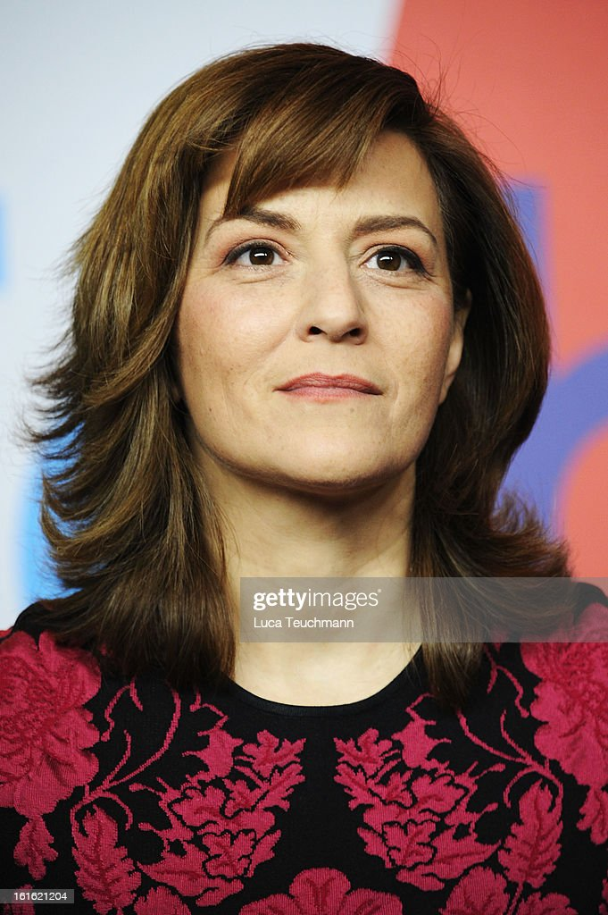 Martina Gedeck attends the 'Night Train to Lisbon' Press Conference during the 63rd Berlinale International Film Festival at the Grand Hyatt Hotel on February 13, 2013 in Berlin, Germany.