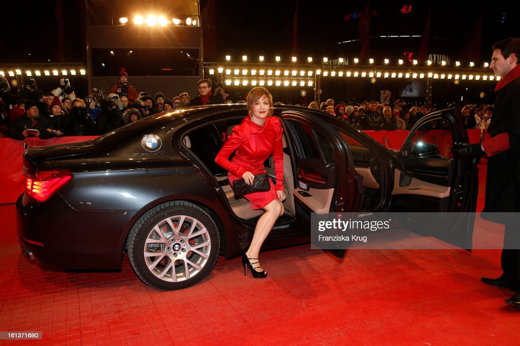 Martina Gedeck attends 'The Nun' Premiere - BMW at the 63rd Berlinale International Film Festival at the Berlinale-Palast on February 10, 2013 in Berlin, Germany.