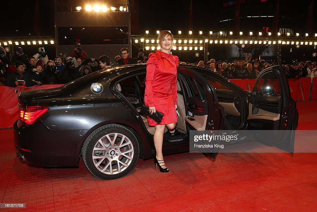 <a gi-track='captionPersonalityLinkClicked' href=/galleries/search?phrase=Martina+Gedeck&family=editorial&specificpeople=621042 ng-click='$event.stopPropagation()'>Martina Gedeck</a> attends 'The Nun' Premiere - BMW at the 63rd Berlinale International Film Festival at the Berlinale-Palast on February 10, 2013 in Berlin, Germany.