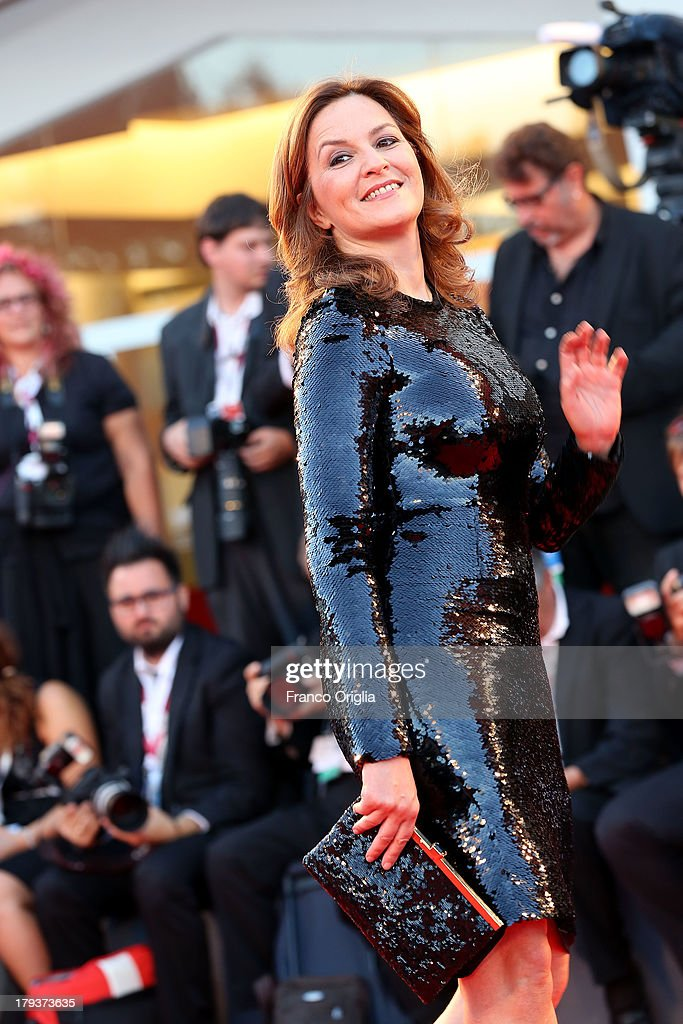 <a gi-track='captionPersonalityLinkClicked' href=/galleries/search?phrase=Martina+Gedeck&family=editorial&specificpeople=621042 ng-click='$event.stopPropagation()'>Martina Gedeck</a> attends 'The Zero Theorem' Premiere during the 70th Venice International Film Festival at the Palazzo del Cinema on September 2, 2013 in Venice, Italy.