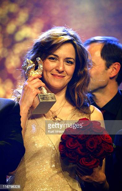 Martina Gedeck during 57th Berlinale International Film Festival Golden Bear Awards Show at Berlinale Palast in Berlin Germany