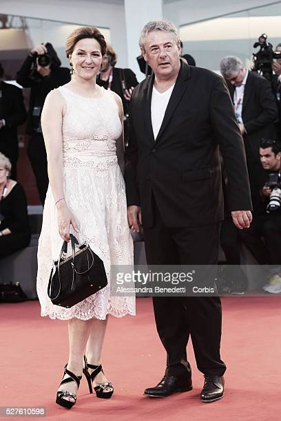 MArtina Gedeckt and guest attend the premiere of movie La Jalousie presented in competition at the 70th International Venice Film Festival