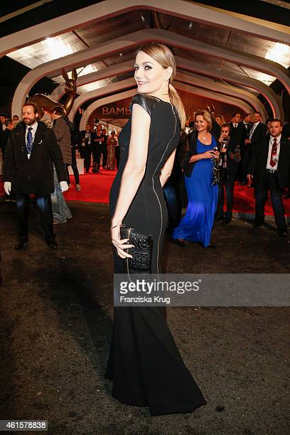 Martina Hill arrives at the Bambi Awards 2014 on November 13 2014 in Berlin Germany