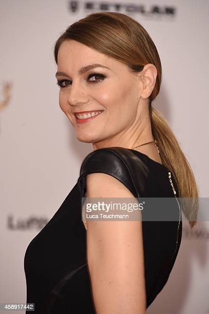 Martina Hill attends Kryolan at the Bambi Awards 2014 on November 13 2014 in Berlin Germany