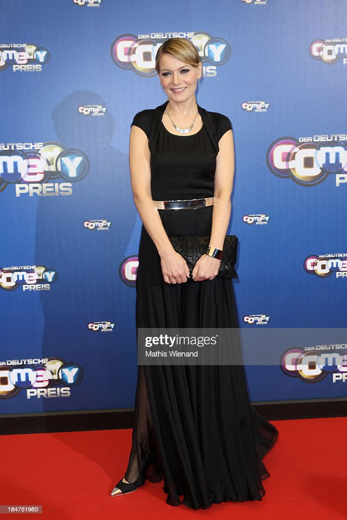 Martina Hill attends the 17th Annual of the German Comedy Awards at Coloneum on October 15, 2013 in Cologne, Germany.