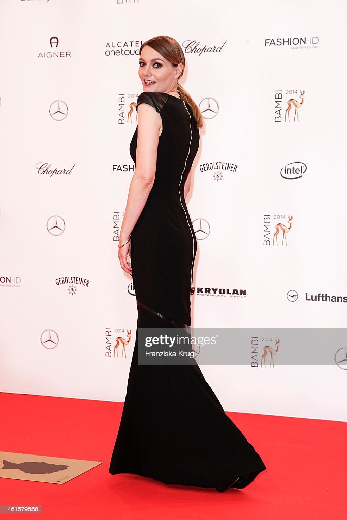 <a gi-track='captionPersonalityLinkClicked' href=/galleries/search?phrase=Martina+Hill&family=editorial&specificpeople=6056466 ng-click='$event.stopPropagation()'>Martina Hill</a> attends the Bambi Awards 2014 on November 13, 2014 in Berlin, Germany.