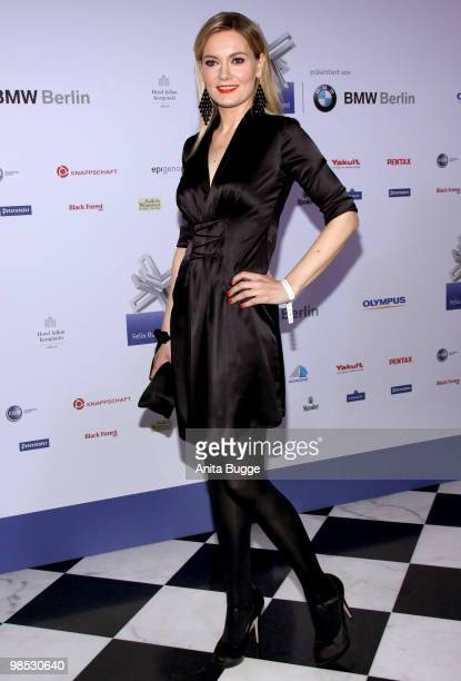 Martina Hill attends the 'Felix Burda Award' at the Adlon hotel on April 18 2010 in Berlin Germany