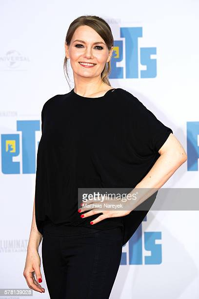Martina Hill attends the premiere of the film 'PETS' at CineStar on July 20 2016 in Berlin Germany