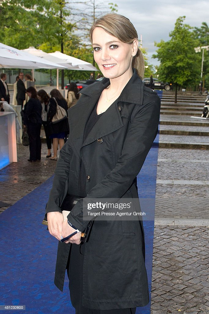 <a gi-track='captionPersonalityLinkClicked' href=/galleries/search?phrase=Martina+Hill&family=editorial&specificpeople=6056466 ng-click='$event.stopPropagation()'>Martina Hill</a> attends the producer party 2014 (Produzentenfest) of the Alliance German Producer - Cinema And Television on June 25, 2014 in Berlin, Germany.