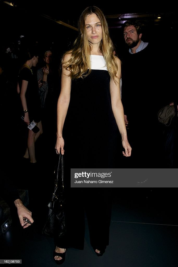 Martina Klein attends a fashion show during the Mercedes Benz Fashion Week Madrid Fall/Winter 2013/14 at Ifema on February 19, 2013 in Madrid, Spain.