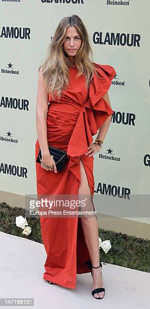 Martina Klein attends the 'Glamour' magazine 10th anniversary gala on June 26 2012 in Madrid Spain