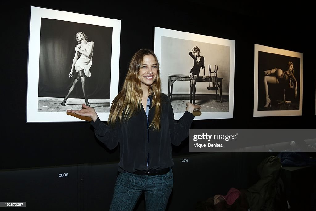Martina Klein attends the 'Jaime de la Iguana Exhibition' at Palau Robert on February 28, 2013 in Barcelona, Spain.