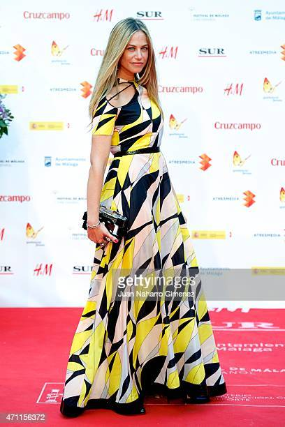 Martina Klein attends the 'Solo Quimica' premiere during the 18th Malaga Spanish Film Festival at the Cervantes Theater on April 25 2015 in Malaga...