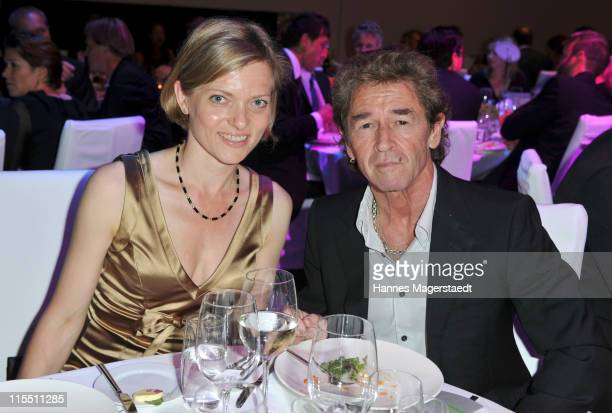 Martina Lutz and Peter Maffay attend the BayWa Charity Gala at Haus der Kunst on June 7 2011 in Munich Germany