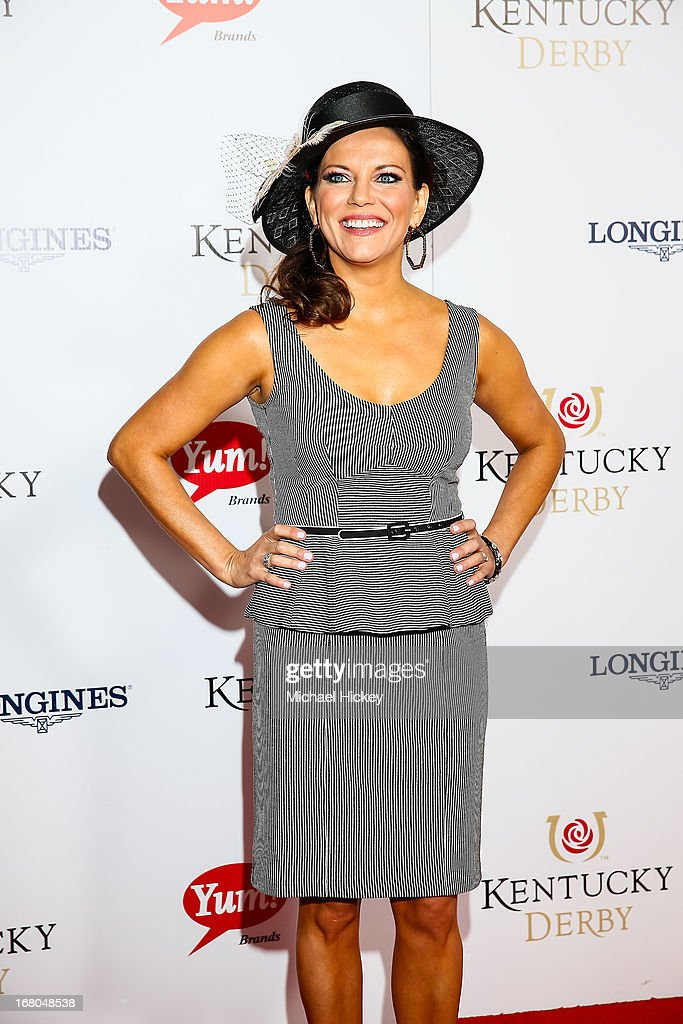 Martina McBride attends 139th Kentucky Derby at Churchill Downs on May 4, 2013 in Louisville, Kentucky.