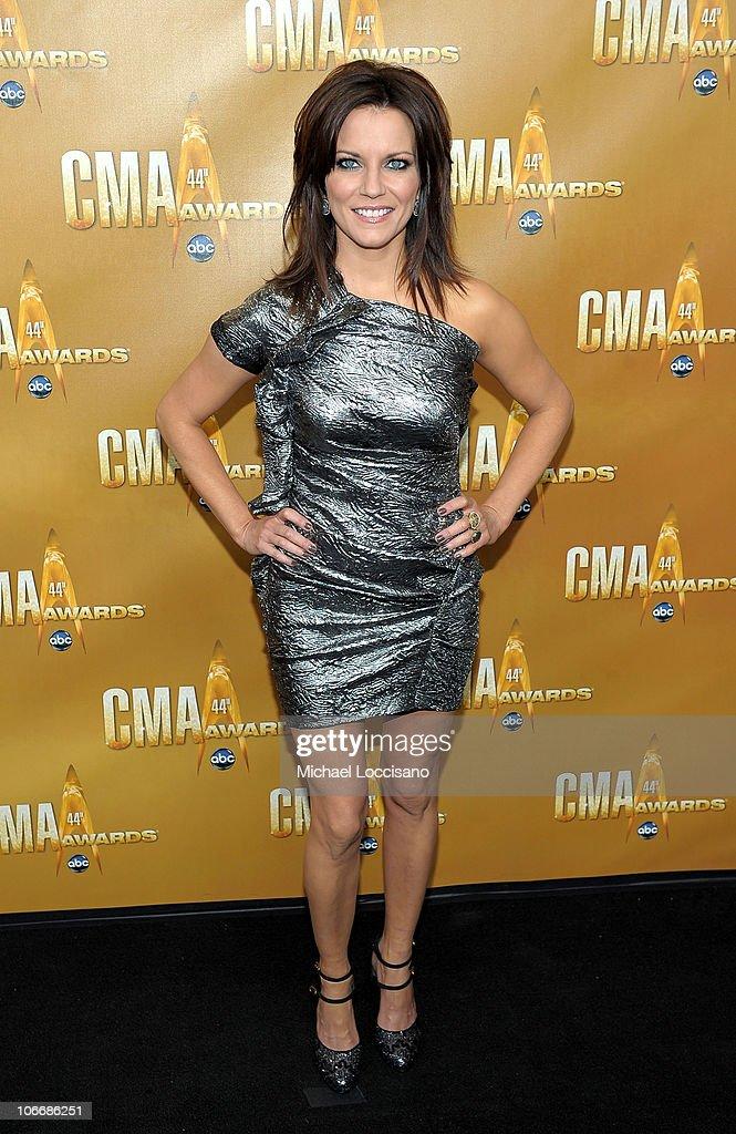 Martina McBride attends the 44th Annual CMA Awards at the Bridgestone Arena on November 10, 2010 in Nashville, Tennessee.
