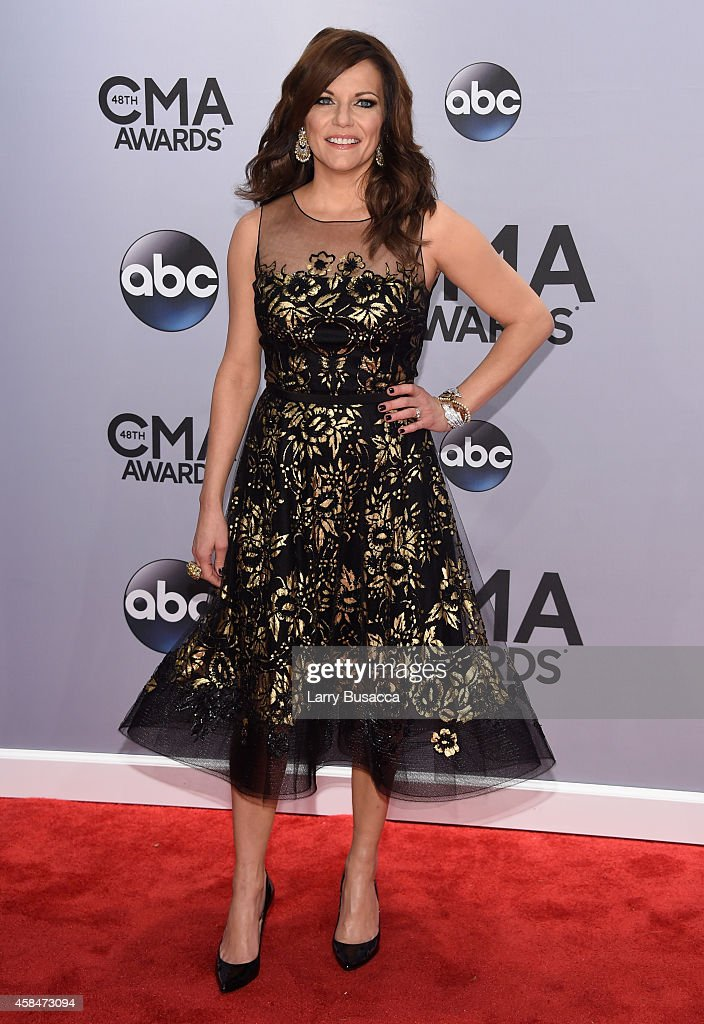 Martina McBride attends the 48th annual CMA Awards at the Bridgestone Arena on November 5 2014 in Nashville Tennessee
