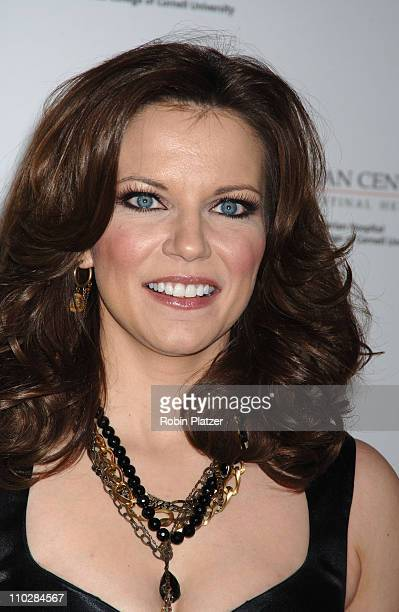 Martina McBride during Katie Couric EIF and NCCRA Present 'Hollywood Meets Motown' Benefit Arrivals at The Waldorf Astoria Hotel in New York New York...