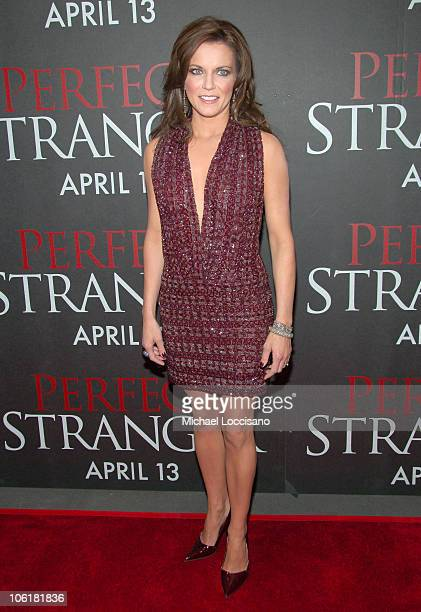 Martina McBride during 'Perfect Stranger' New York City Premiere Arrivals at Ziegfeld Theater in New York City New York United States