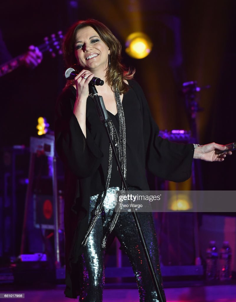Martina McBride Love Unleashed Tour - New York, New York at PlayStation Theater on March 9, 2017 in New York City.
