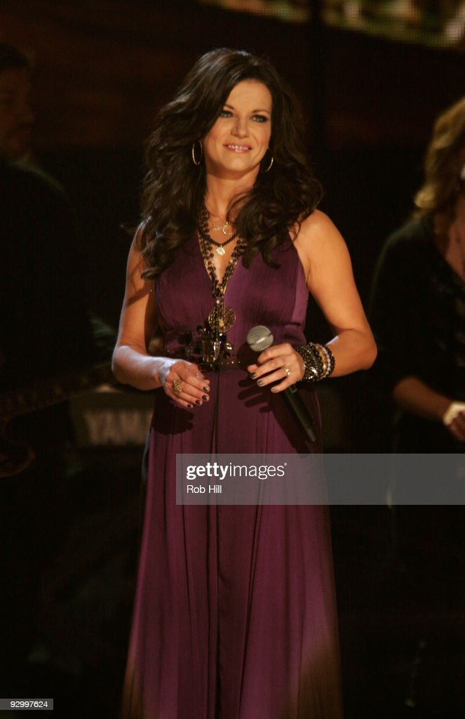 Martina McBride onstage at the 43rd Annual CMA Awards at the Sommet Center on November 11 2009 in Nashville Tennessee